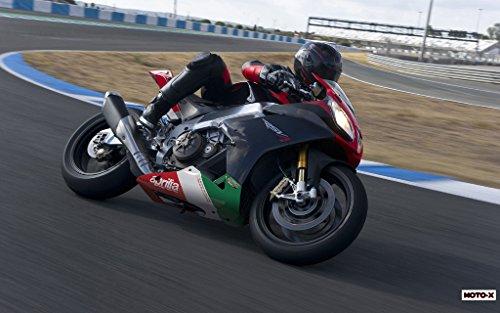 Motorcycle Aprilia rsv4Factory APRC 201021–36x 48ポスター
