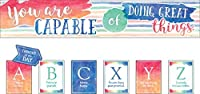 Watercolor You Are Capable of Doing Great Things Bulletin Board [並行輸入品]