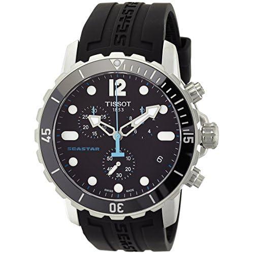 [ティソ]TISSOT 腕時計 SEASTAR 1000 Quartz Chronograph(シースター1000 クォーツ クロノグラフ) T0664171705700 メンズ 【正規輸入品】
