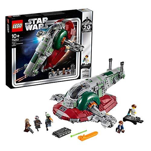 レゴ(LEGO) スター・ウォーズ スレーヴl(TM) – 20周年記念モデル 【復刻版 レイア姫のミニフィギュア付き】 75243