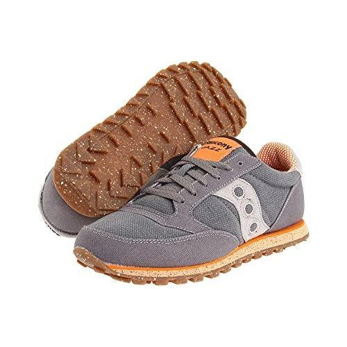 (サッカニー) SAUCONY 靴・シューズ メンズスニーカー Saucony Originals Jazz Low Pro Vegan Charcoal/Orange US 13 (31cm) D