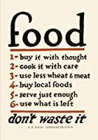 U.S. WPA Food Art Poster Create Your Own Cookbook: A Blank Recipe Journal (Work Projects Administration (WPA) Poster Collection Books and Prints) [並行輸入品]