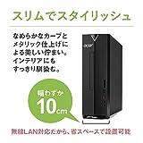 Acer デスクトップパソコン Aspire (Core i3-8100/8GB/1TB HDD/±R/RW スリムドライブ/Windows 10/ブラック) XC-885-N38F
