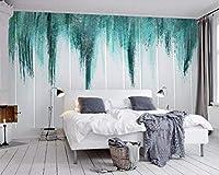 Wuyyii カスタム写真の壁紙壁画手描きの落書きリビングルームテレビコーヒーホテルの背景の壁3Dの壁紙-350X250Cm