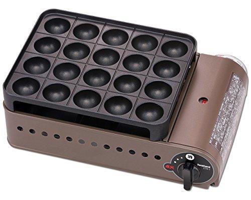イワタニ カセットガスたこ焼器 スーパー炎たこ(えんたこ) ブロンズ&ブラック CB-ETK-1 B01KF0EAVO 1枚目
