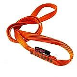 GM CLIMBING 1本パック 22kN 16mm ナイロンスリング ランナー 60cm オレンジ CE認証