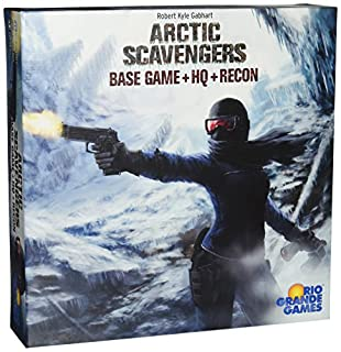 Rio Grande Games Arctic Scavengers Board Game Base Game + HQ + Recon Expansions (B00VWJDCTO) | Amazon Products