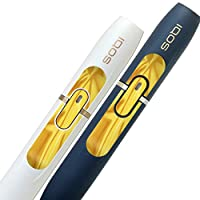 IQOS 2.4 plus 専用スキンシール ボタン 保護 フィルム ステッカー デザイン おしゃれ その他 黄色 模様 000569