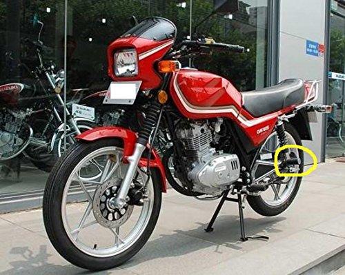 タンデムステップ 汎用 カブ バイク 用 パーツ リア 左右 2個 セット ラバー ブラック 取り付け 用