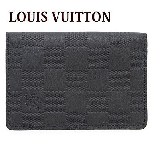 ルイヴィトン LOUIS VUITTON カードケース メンズ 名刺入れ オーガナイザー・ドゥ ポッシュ ダミエ・アンフィニ オニキス N63197