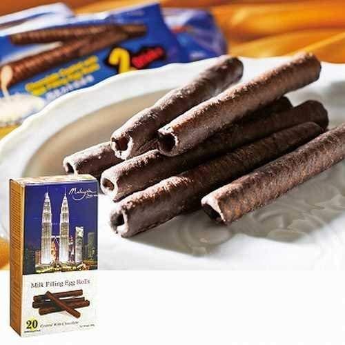 マレーシアチョコレートロール 1箱【マレーシア 海外土産 輸入食品 スナック菓子】