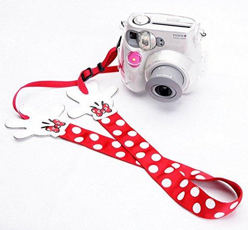 VIECSTYLE ノーブランド ハンド カメラストラップ 一眼レフカメラ カメラ女子 (赤) [並行輸入品]