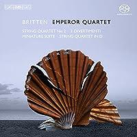 ブリテン:弦楽四重奏曲第2番ハ長調 他 (Britten : String Quartets / Emperor SQ) (SACD Hybrid)