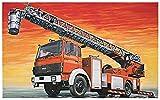 イタレリ 1/24 イビコ・マギルス DLK23-12 はしご付消防車 プラモデル IT3784