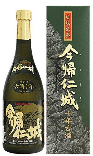 泡盛 今帰仁城 10年古酒43度 720ml (有)今帰仁酒造