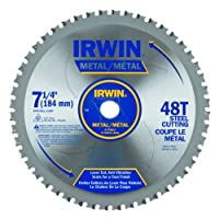 "Irwin4935555Carbide Tooth Metal Cutting Blade-7-1/4"" 48T FERROUS BLADE (並行輸入品)"