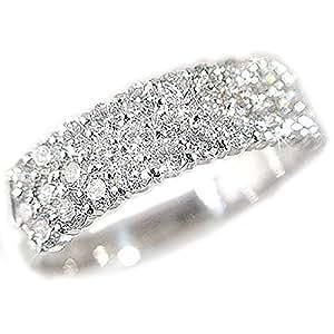 プラチナ パヴェリング ダイヤモンド 1.0ct/Pt900 ダイヤ1ct 1