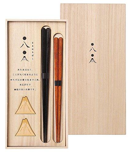 兵左衛門 丸八 組箸 (木箱入) 末広がり 104506