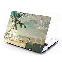 MacBookケース 【 MacBook Air 11.6インチ 専用 】ALOHA SUMMER デザイン MacBook シェルカバーケース シェルケース プロテクター