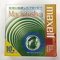 maxell 3.5型フロッピーディスク MFHDMAC.C10P