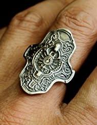 ダークソウル × TORCH TORCH リングコレクション 鉄の加護の指輪 メンズL/21号