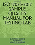 ISO 17025-2017 SAMPLE QUALITY MANUAL FOR TESTING LAB (RRL)