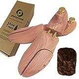 glossychoe(グロッシーシュ)  シューキーパー(シューツリー) レッドシダー 木製 メンズ 天然木 (40/41 (約25cm~26.5cm))