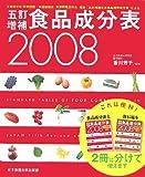 五訂増補食品成分表〈2008〉