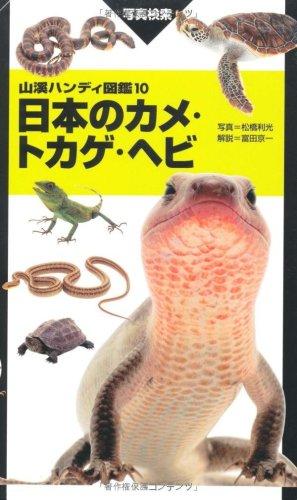 ハンディ10日本のカメ・トカゲ・ヘビ (山溪ハンディ図鑑)の詳細を見る