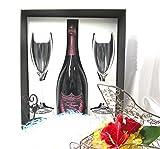 高級シャンパーニュ専門店銀座商会がご提供する Dom Perignon Rose Vintage 2005 750ml Flute Glasses Set 【正規代理店商品】(Gift Box 付)