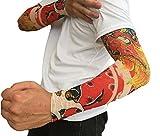 2秒で消える 刺青 Tシャツ アームカバー タトゥー デザイン おもしろ グッズ おもしろ グッズ (k 代貸し)
