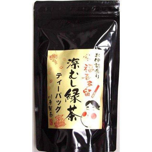 福喜多留 深蒸し緑茶ティーバッグ 40パック入 200g