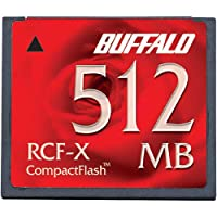 バッファロー コンパクトフラッシュカード 512MB 3個