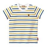 [ミキハウス] MIKIHOUSE ♪Every Day mikihouse♪ ボーダー半袖Tシャツ(70cm-150cm) 12-5219-956 青 120cm
