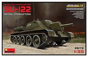 ミニアート 1/35 SU-122 初期生産型 フルインテリア 内部再現 プラモデル MA35175