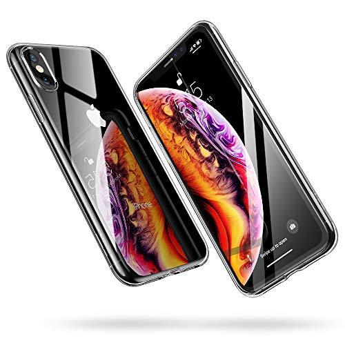 ba541b3f6a 最安値: ¥1,299 (税込). 【amazonマーケットプレイス】 · ESR iPhone Xs/X 対応 ケース ソフトカバー 透明TPU  薄型 黄変防止 5.8インチ (クリア)