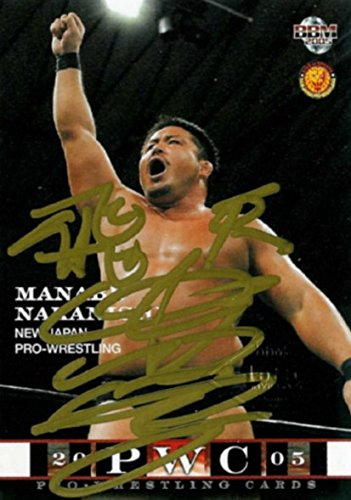 BBM 新日本プロレス 中西 学 直筆 サイン カード 48枚限定 2005 ベースボールマガジン社