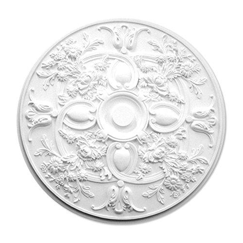 シャンデリア装飾メダリオン ゴールデンモール ポリウレタン製 NMG221