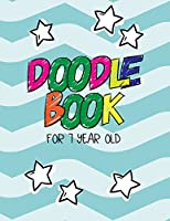 Doodle Book for 7 Year Old: Graph Paper Notebook, 8.5 X 11, 120 Grid Lined Pages 1/4 Inch Squares