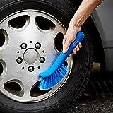 GORDON MILLER 洗車ブラシ やわらか ホイール用 ホイルブラシ ブルー