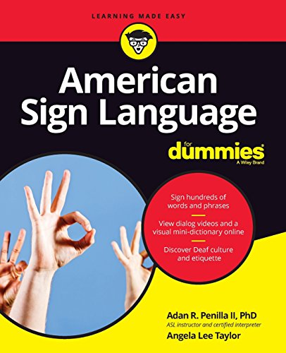 Download American Sign Language For Dummies with Online Videos 1119286077