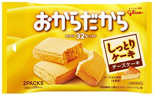 江崎グリコ おからだから チーズケーキ 2個×10個 栄養補助食品