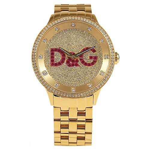(D&G) D&G ディーアンドジー 時計 メンズ/レディース D&G DW0377 プライムタイム 腕時計 ウォッチ ゴールド[並行輸入品]