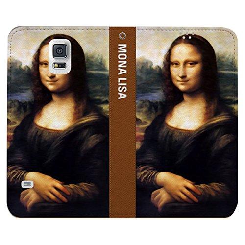Galaxy S4 / ギャラクシー S4 (SC-04E) 対応 ケース Culture Season2 Flip Wallet カルチャーシーズン2 フリップ ウォーレット ケース スマホ カバー MonaLisa / モナリザ