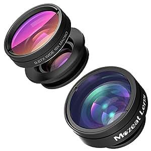 Mozeat スマートフォン用レンズ 広角レンズ マクロレンズ 魚眼レンズ 3点セット