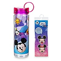 Disney Mickey Mouse and Friends Emoji Water Bottle with Stickers [並行輸入品]