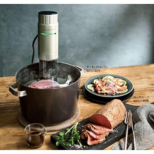 家庭用真空低温調理器 ギンザオリーバル スーヴィードクッカー ...