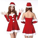 クリスマス サンタ衣装 コスプレ コスチューム レディース 仮装 セクシー (タイプ1)