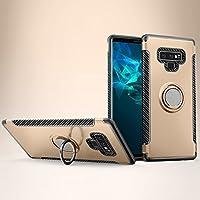 Samsung Galaxy Note 9 シェル, Scheam スクラッチ耐性 おとこ 衝撃吸収 プロテクター 保護 シェル の Samsung Galaxy Note 9 (Golden)