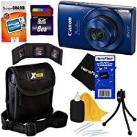 Canon PowerShot ELPH 190ISデジタルカメラwith 10xズーム、720p HDビデオと内蔵Wi - Fi +アクセサリキットW/HeroFiber Ultra Gentleクリーニングクロス